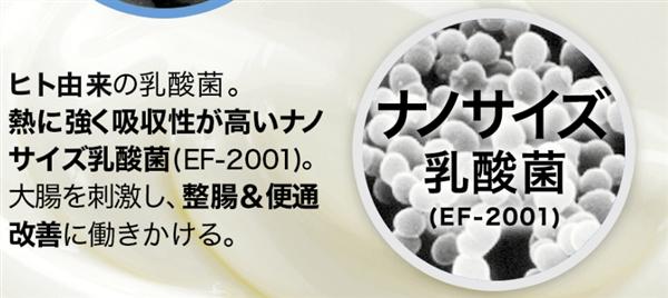 黒汁,成分,ナノサイズ乳酸菌