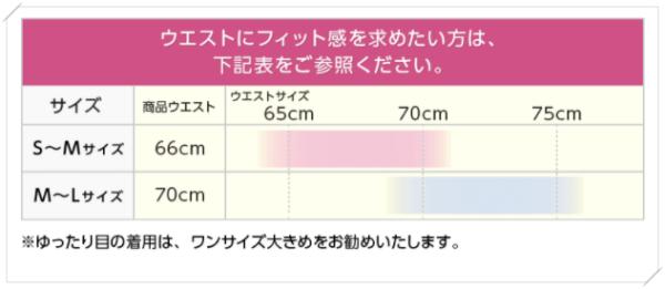 グラマラスタイルのサイズ選び